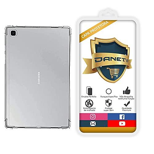 """Capa Protetora Para Samsung Galaxy Tab A7 Lite com Tela de 8.7"""" Polegadas T220 T225 Capinha Case Transparente Air Anti Impacto Proteção De Silicone Flexível"""
