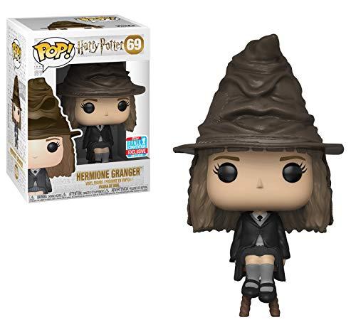 Funko Pop Harry Potter: Hermione con la convención de otoño de Sorting Hat 2