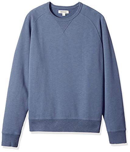 Amazon Brand - Goodthreads Men's Crewneck Fleece Sweatshirt, Vintage Indigo, Medium