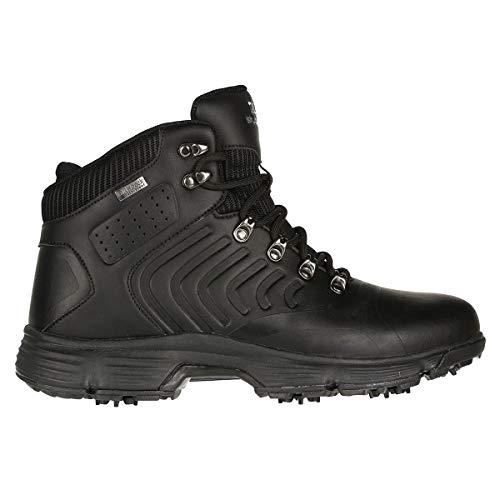 Stuburt Herren SBBOOT1074 Mens Evolve Winter All Weather Waterproof Spiked Golf Boots Shoes Golfschuhe, Schwarz, 38 EU