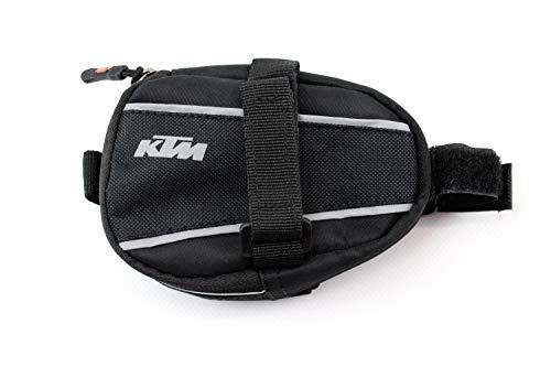 KTM MTB - Fahrradtasche Satteltasche schwarz - 0,4 Ltr - Reflektorstreifen