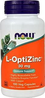 NOW L-Optizinc® -- 30 mg - 100 Veg Capsules - 3PC