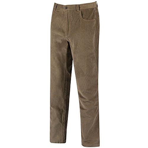 Regatta - Pantalones de Pana Modelo Landford para Hombre (81cm - R) (Arena/Crema)