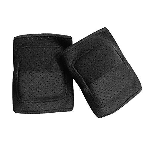 kapokilly Almohadillas para La Rodilla Engrosamiento De La Esponja Protectora Transpirable Antideslizante Amortiguación con La Piel Rodilleras para Yoga, Baile, Voleibol, Bicicleta