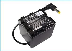 Cameron Sino 650mAh Battery for Panasonic HDC-HS900, HDC-SD800, HDC-SD900, HDC-TM900