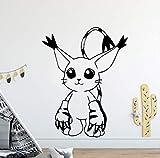 Wandtattoo Cartoon Cartoon Modern Innen Kunst Wanddekoration Kinderzimmer Dekoration Wall Art Decal 58 x 74 cm