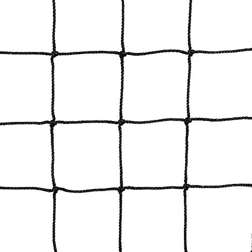 "Price comparison product image Yaheetech 10 x 20Ft Waterproof Baseball Backstop Net,  Multi-use Net for Bird Against,  Basketball Guard Net,  Garden Net,  etc 1.8"" X 1.8"" Square Mesh Size"