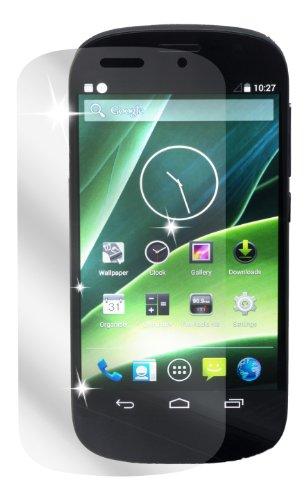 Ecultor I 6x Schutzfolie klar passend für Yota Yotaphone 2 Folie Bildschirmschutzfolie