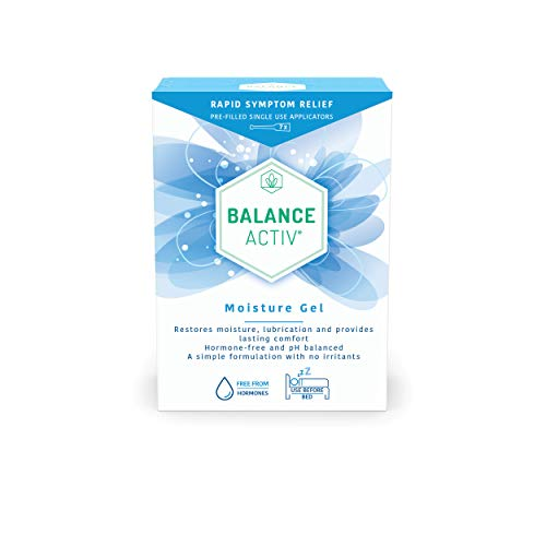 Balance Activ Moisture Gel | Vaginal Moisturiser | Fast, Long-Lasting Relief from Vaginal Dryness and Discomfort | Vaginal Dryness Treatment for Women | 7 Easy to Use Gel Applicators