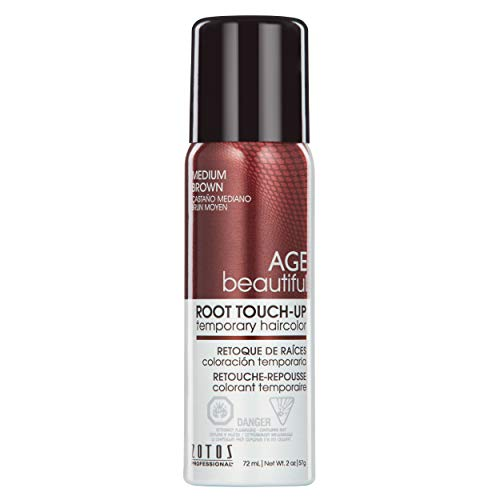 AGEbeautiful Root Touch-Up, Medium Brown, 2 Ounce
