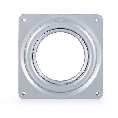 La-zy Su-san skivspelare lager - 4 tum fyrkantigt galvaniserat stål hållbart och stabilt bärande skivspelare TV-ställ skrivbordsverktyg
