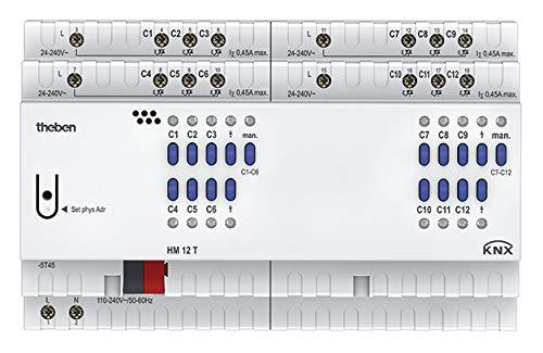 Theben 4940245 HM T KNX Heizungsaktor, 12 Kanäle
