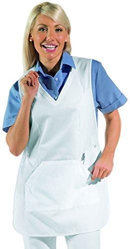 clinicfashion 50112023 Überwurfschürze/Chasuble, weiß, Größe II