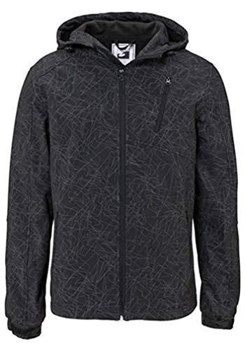 Softshelljacke Jacke Herren von Ocean Sportswear - Schwarz Gr. XL