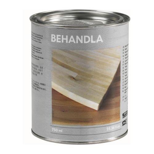 IKEA BEHANDLA Holzöl (Innengebrauch), 0,75 Liter, Reicht für:: 10.00 m²
