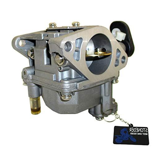JIACUO Carburador Yamaha 4 Tiempos 15HP Fuera de borda 66M-14301-11 66M-14301-12 Motor F15