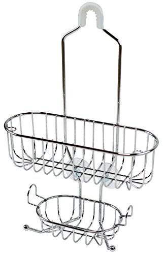 DecoBros Shower Caddy Chrome