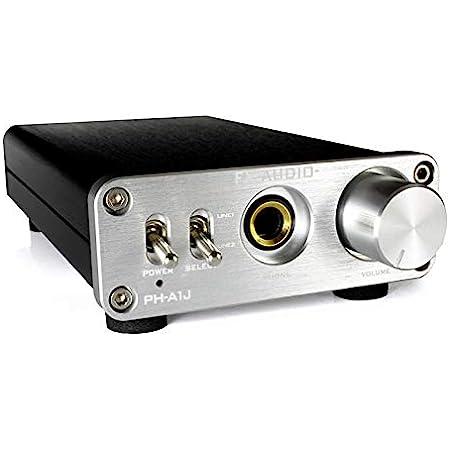 FX-AUDIO- PH-A1J パワートランジスタディスクリート構成ヘッドフォンアンプ (シルバー)