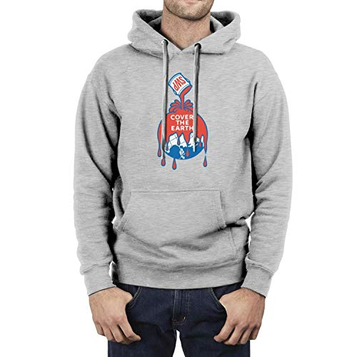 Men's Clothing Solid V Neck Hoody Sweatshirts Sherwin Williams Logo Printed