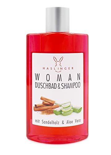 Haslinger WOMAN Sandelholz & Aloe Vera Shampoo/Duschbad 200 ml