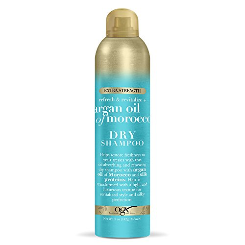 OGX Refresh Revitalize Extra Strength Dry Shampoo, Argan Oil of Morocco 5 Ounce