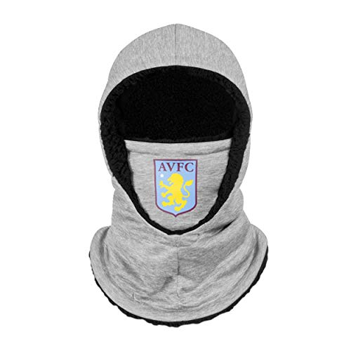 Forever Collectibles UK ASTON VILLA FC GREY HOODED SNOOD SCARF