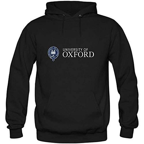 JAMES PERKINS Mens University of Oxford Pullover Sweater Hoodies Black