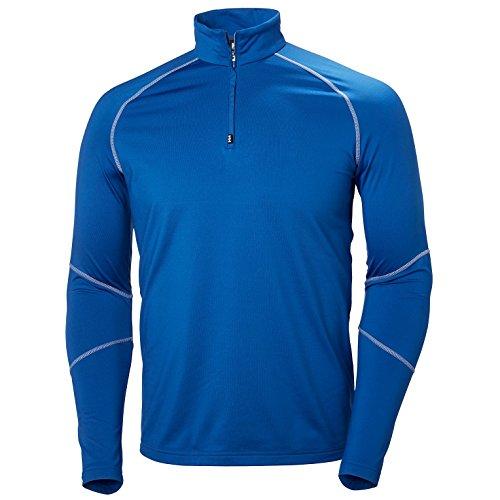 Helly Hansen Phantom 1/2 Zip Midlayer, Chaqueta Deportiva para Hombre, Azul, Small (Tamaño del fabricante:S)