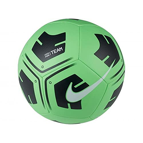 Nike Park-Team, Calcio Palla Unisex Adulto, Rage Verde/Nero/Bianco, 4