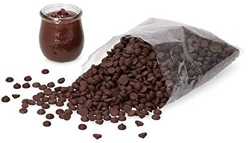 Callebaut Callets   Kuvertüre für Pralinen, Desserts und Torten   Zartbitter   1 kg