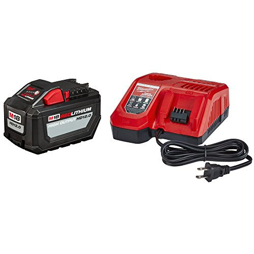 MILWAUKEE'S Electric Tools 48-59-1200 Red lithium High Output Starter Kit