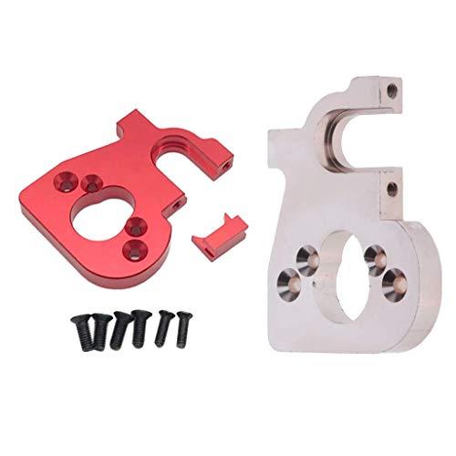 Base de montaje de motor RC de 2 piezas para WLtoys 144001 1/14 Crawler Buggy DIY Accs