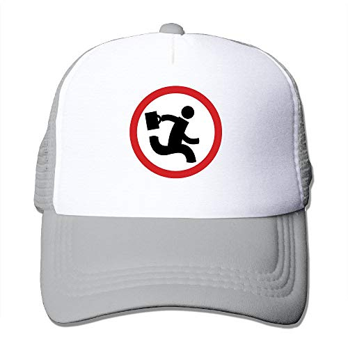 xdbgdfhdhdjdj Erwachsene Unisex Nerd Herd Logo Royalblue Trucker Hüte verstellbar