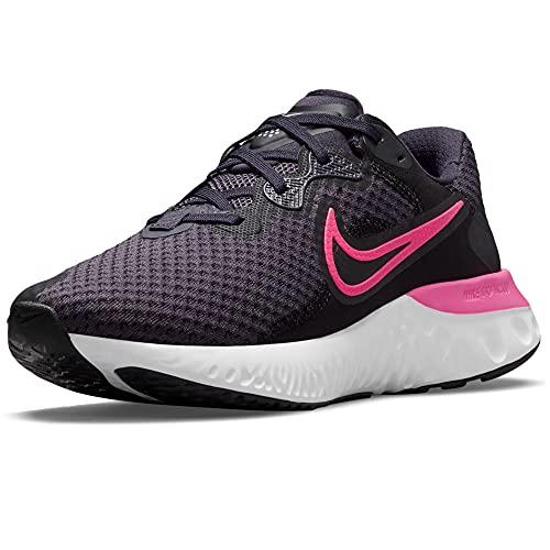 Nike Renew Run 2, Scarpe da Corsa Donna, Nero Rosa, 37.5 EU