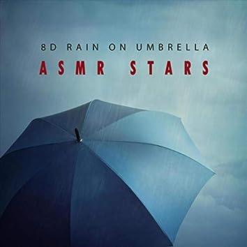 8D Rain on Umbrella