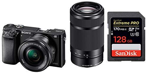 Sony Alpha ILCE 6000Y 24.3 MP Mirrorless Digital SLR Camera...
