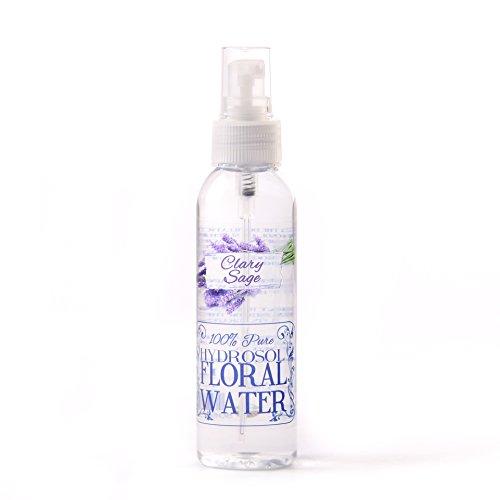 Erba Moscatella Sclarea Salvia Idrosol Floreale Acqua Con Spray Cappello - 125ml