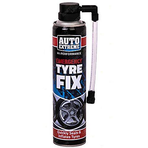 RnT Auto Xtreme Quick Fix 5223 Spray temporal plano de reparación de neumáticos de coche, 300 ml