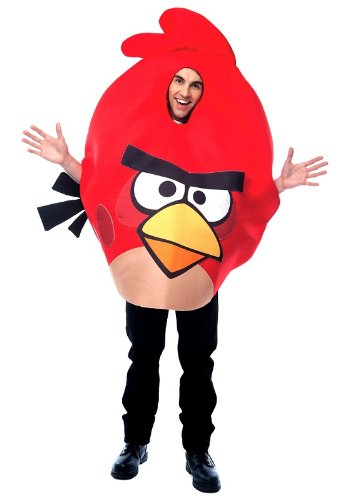 Angry Birds traje rojo