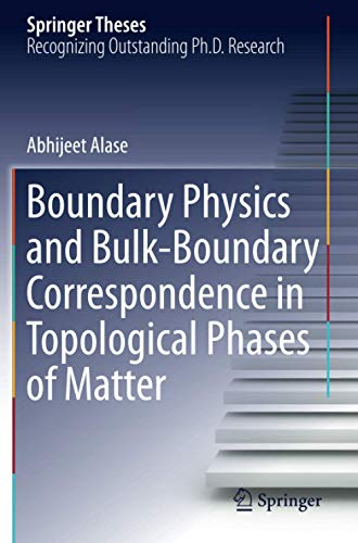 Boundary Physics and Bulk-Boundary Correspondence in Topological Phases of Matter (Springer Theses)