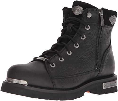 HARLEY-DAVIDSON FOOTWEAR mens Chipman Motorcycle Boot, Black, 7.5 US