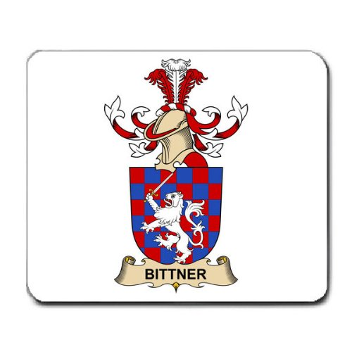 Bittner de Bitterthal Family Crest Coat of Arms Mouse Pad