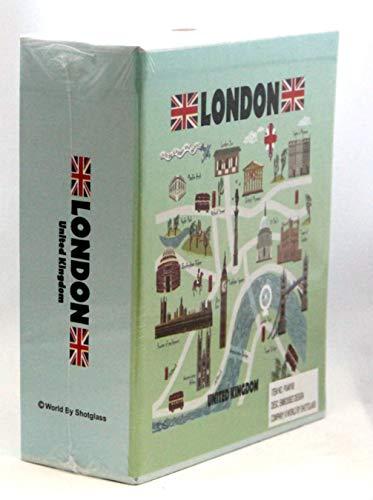 Londres Inglaterra en relieve álbum de fotos 200fotos/4x 6[álbum]