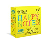 Instant Happy Notes 2020 Calendar: 365 Reminders to Smile & Shine