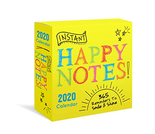 2020 Instant Happy Notes Boxed Calendar: 365 Reminders to Smile and Shine!