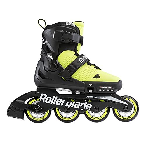 Rollerblade Microblade Se Inlineskates Neongelb/Schwarz 21