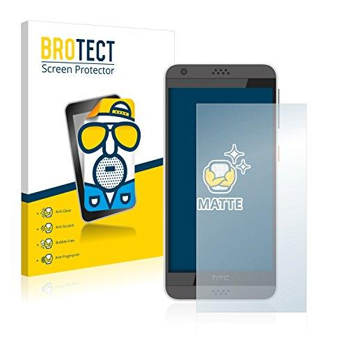 BROTECT 2X Entspiegelungs-Schutzfolie kompatibel mit HTC Desire 530 Bildschirmschutz-Folie Matt, Anti-Reflex, Anti-Fingerprint