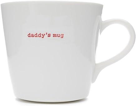 Preisvergleich für Keith Brymer Jones Kaffeetasse mit Aufschrift Daddy's Mug, GrößeXL, Weiß