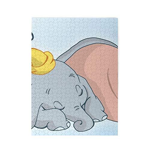 yushan Puzzle Cute Dumbo 500 Stück Puzzle für Erwachsene und Familien Geschenk