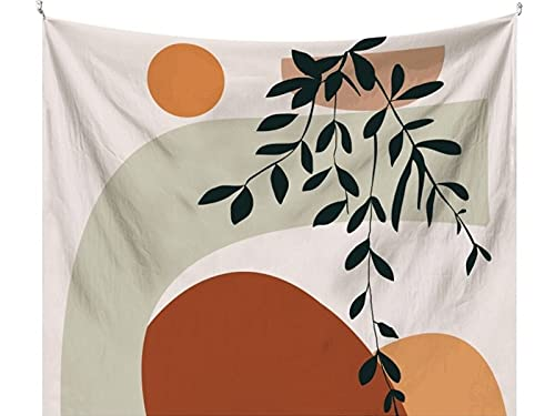 Tapices de pared de tela de fondo de arte fresco minimalista nórdico tapices de dormitorio junto a la cama tapices decorativos salvajes A1 180X200CM